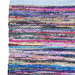 Alfombra multicolor 55x85cm.